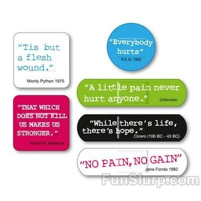quotes and quips band aids
