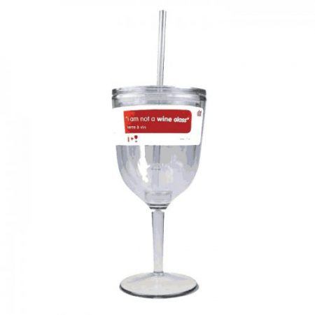 shatterproof travel wine glass