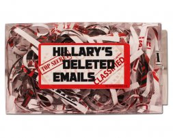 Hillary's Deleted Emails Gag Gift