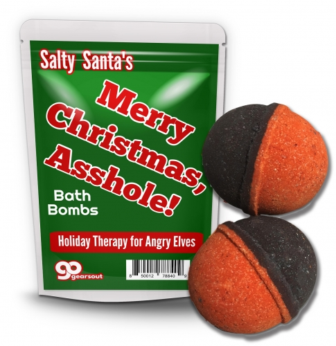 Merry Christmas, Asshole Bath Bombs