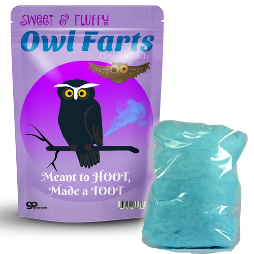 Owl Farts Cotton Candy