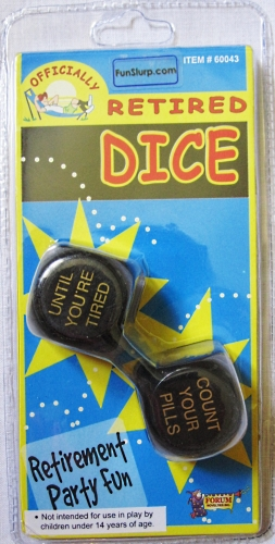 Officially Retired Dice