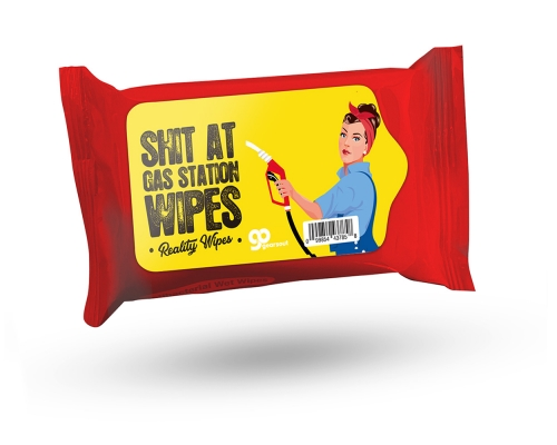 Shit at Gas Station Wipes