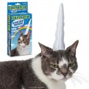 Unicorn Cat: Inflatable Unicorn Horn