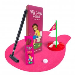 Pink Potty Putter for Women