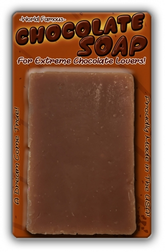 Chocolate Soap Bath Bar