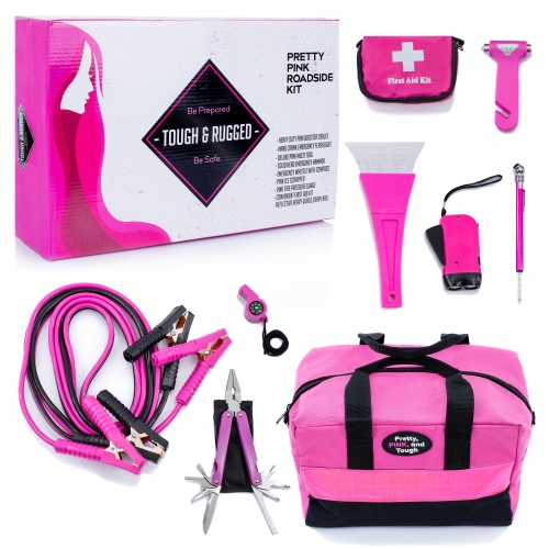Pretty Pink Roadside Kit
