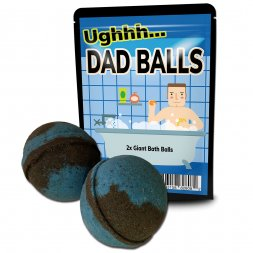 Dad Balls Bath Bombs