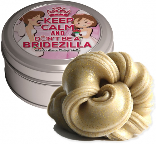 Don't Be A Bridezilla Stress Relief Putty