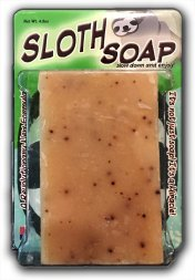 Sloth Soap Bath Bar