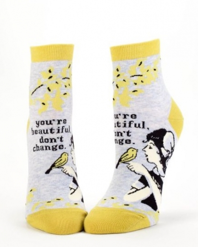 You're Beautiful, Don't Change Socks - Ankle