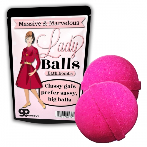 Lady Balls Bath Bombs