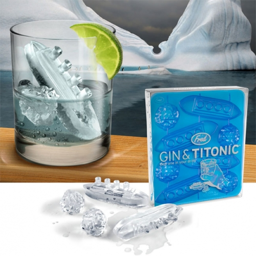 Gin and Titonic Ice Tray