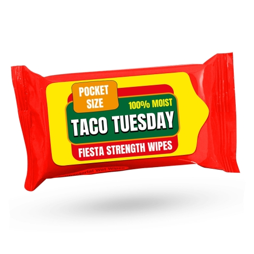 Taco Tuesday Fiesta Strength Wipes
