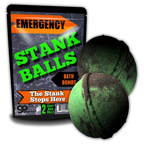 Emergency Stank Balls Bath Bombs