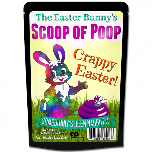 Easter Bunny Scoop of Poop Crappy Easter Gag Gift