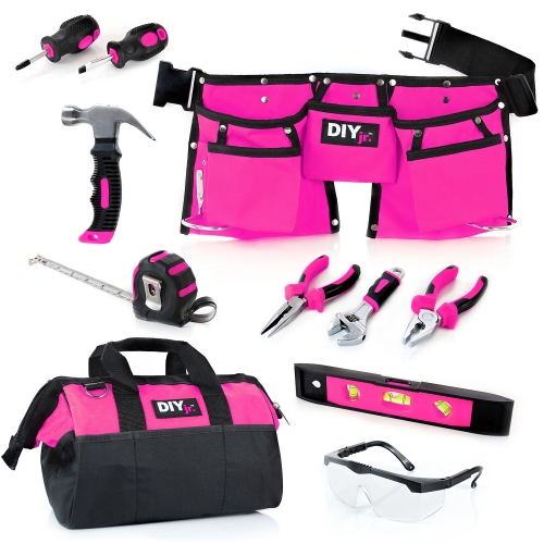 My First Tool Set – PINK by DIY Jr.™
