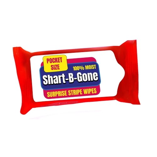 Shart Be Gone Wipes