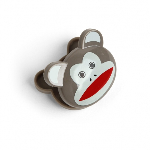 Sock Monkey Chip Clips - 6 Pack