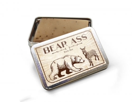 Bear Ass Bath Bar Soap