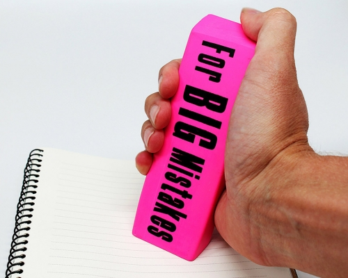 For BIG Mistakes Eraser