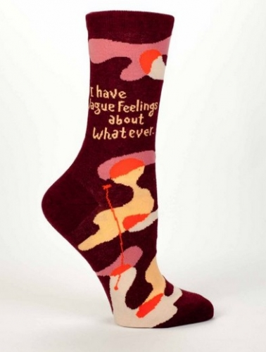 Vague Feelings About Whatever Socks