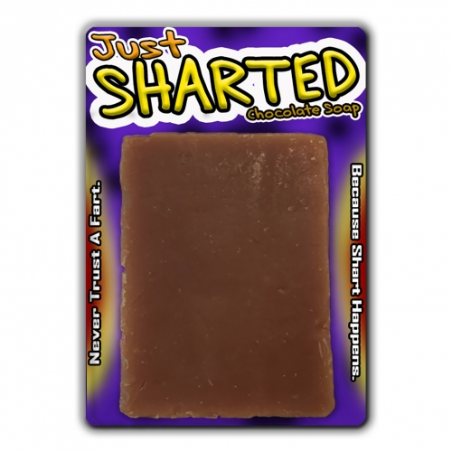 Just Sharted Chocolate Soap