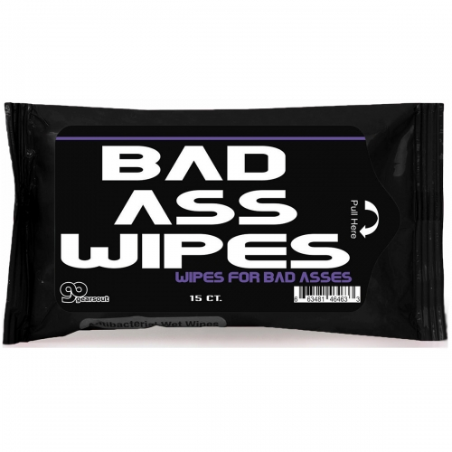 Bad Ass Antibacterial Wipes