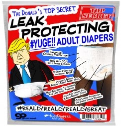 The Donald's Leak Protecting Adult Diapers
