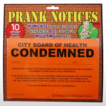 Prank Notices
