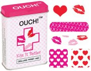Ouch! Kiss It Better Band Aids