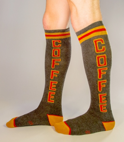 Tall Coffee Socks