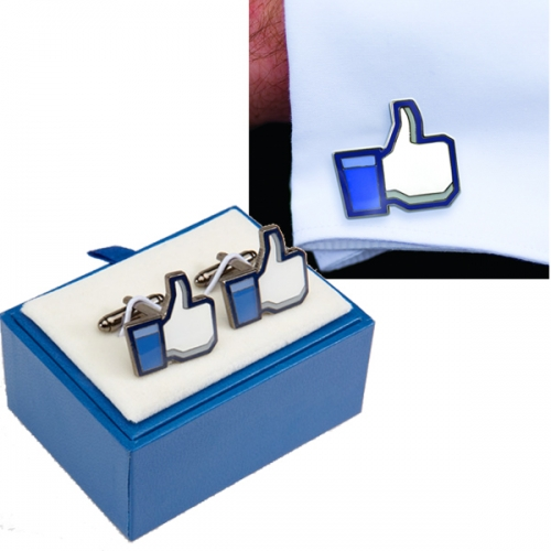 Thumbs Up Facebook Cufflinks