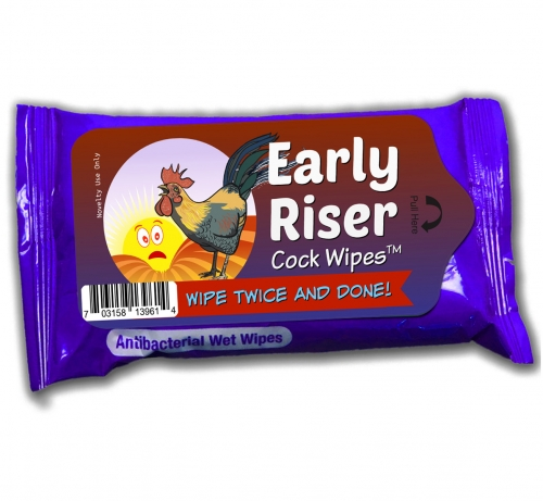 Early Riser Cock Wipes