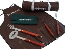 The Tailgater's Football BBQ Set