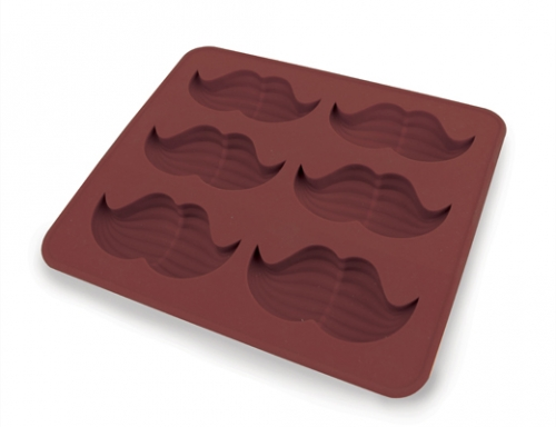 Fun Mustache Ice Mold