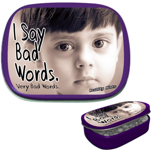 I Say Bad Words Mints