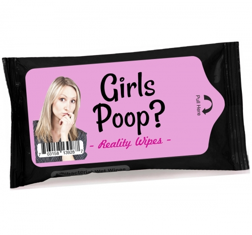 Girls Poop Wipes