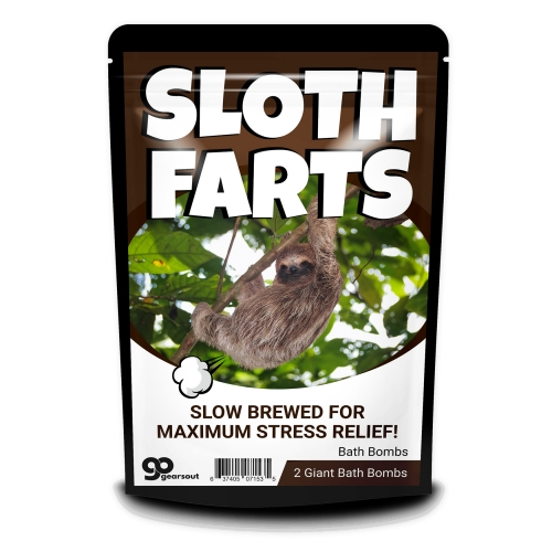 Sloth Farts Bath Bombs