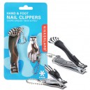 Hand & Foot Nail Clippers Combo