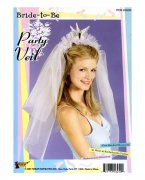 Bride to Be Party Veil