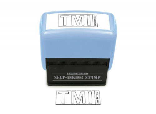 TMI Self Inking Stamp