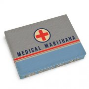 Medical Marijuana Tin Pocket Box