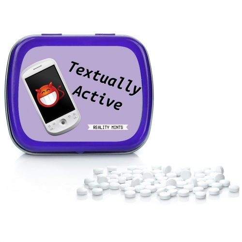 Textually Active Mints