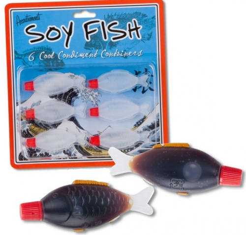 Soy Fish Condiment Containers