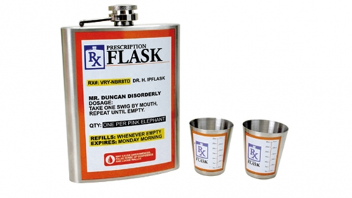 Prescription (Rx) Flask Set