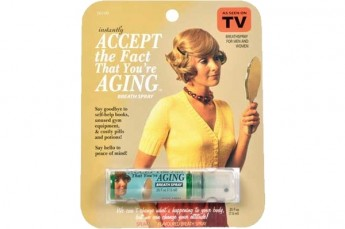 Accept the Fact You're Aging Breath Spray