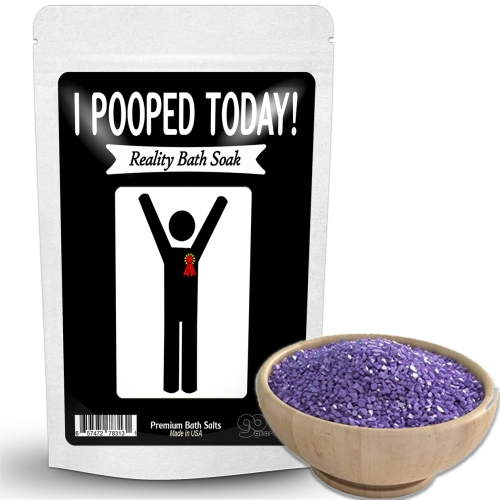 I Pooped Today Bath Soak