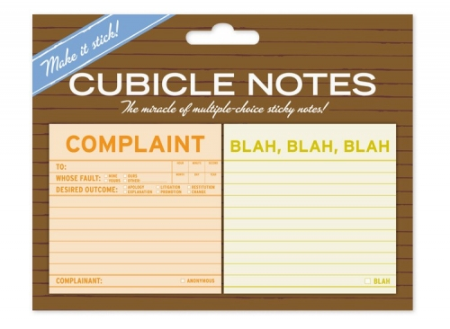 Complaint / Blah - 2 Pack Note Pads