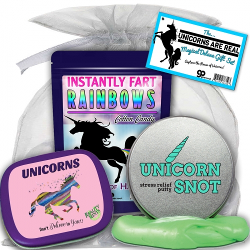 Unicorns Are Real Deluxe Gift Set